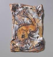 Tawny-Fish, wall piece